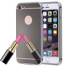 Separable Electroplating Mirror Push Pull Protective Case Back For iPhone 7 Plus