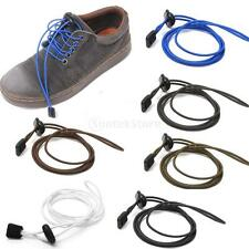 Sports Style Elastic Easy Fastening Shoe Laces Lock Shoelace Running Jogging