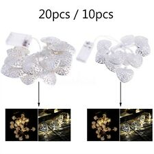 Heart-Shaped Christmas Wedding Xmas Party Decor Outdoor Fairy String Light Lamp