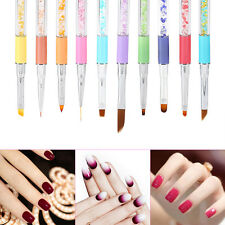 Nail Doting Tips UV Gel Crystal Acrylic Painting Drawing Pen Polish Brush Pen BT
