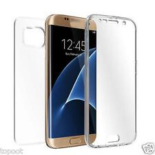 Clear TPU Crystal Cover Full Body Protective Case For Samsung iPhone 7 6 LG HTC