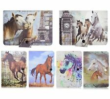 """Universal 7"""" 10"""" inch tablets case cover Horses  for Samsung Amazon Apple Ipad"""