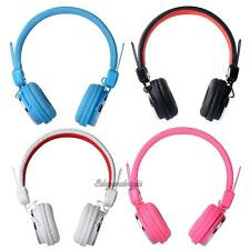3.5mm Plug Stereo Over-ear Headset Headphone with Microphone for PC Tablet MP4