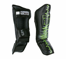 Muay Thai Boxing Shin Guard Kickboxing Protection Sparring Pads Small USA Stock