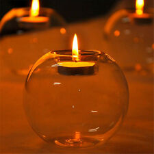Romantic Crystal Glass Candle Holder Wedding Bar Party Dinner  Decor Candlestick