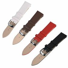 High Quality Womens Mens PU Leather Wristwatch Watch Strap Band 16 18 20 22mm