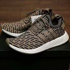 Adidas NMD R2 Primeknit Trace Cargo Olive Green BA7198 100% Authentic