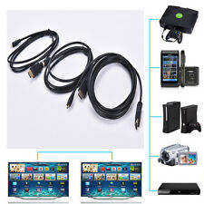 Micro HDMI to HDMI Male Adapter Converter Cable for Droid EVO HTC 4G 1080P LE