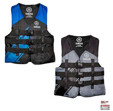 YAMAHA 2017 Men's Nylon 3-Buckle PFD Life Jacket Vest USCG Apvd MAR-16V3B Colors