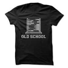 Old School Accounting - Funny T-Shirt
