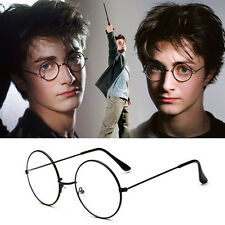 Unisex Women's Men's Retro Fashion Clear Lens Glasses Round Eyewear Eyeglasses
