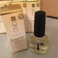 CND Creative Nail Design Solaroil Solar Oil Nail & Cuticle Conditioner 0.25oz
