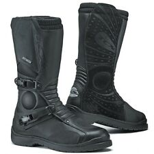 TCX Infinity Gore-Tex Waterproof Touring Motorcycle Boots - Black