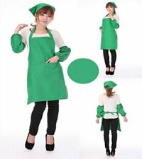Kitchen Pocket Cooking Halter Apron Women Uniform Style Restaurant