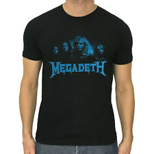 Megadeth T-shirt, American heavy metal band, printed T, retro, size S to XXL