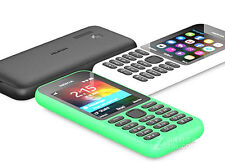 Nokia 215 Black Unlocked Camera Cheap Mobile Phone Dual Sim card Free Shipping