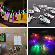 LED Clip String Lights Christmas New Year Garden party Decor Wedding Decoration