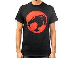ThunderCats Brand Logo Black And Red Licensed Adult T-Shirt