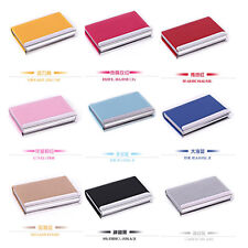 Practical beautiful Leather Business Credit ID Card Holder Case Wallet Gift