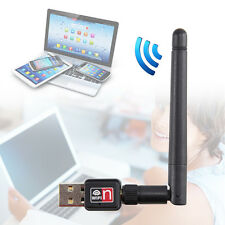 MINI USB 150M 150Mbps Wireless LAN Adapter 802.11b/n/g WiFi 2dBi Antenna LU