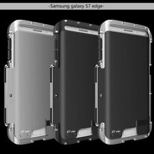 Shockproof Flip Armor Metal Aluminum Case Cover For Samsung Galaxy S7 S6 Edge S8
