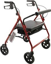 Heavy Duty Bariatric Rollator with Padded Seat