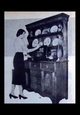 Welsh Dresser Hutch China Cupboard 1951 How-To build PLANS