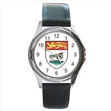 Prince Edward Island Coat of Arms Leather Strap Watches - Tabard Surcoat