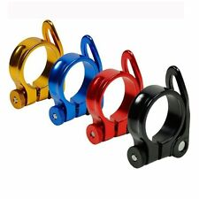Bicycle Cycling Mountain Bike 31.8mm/34.9mm Seat Post Clamp Alloy Quick Release