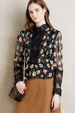 NEW Anthropologie Victoriana Silk Top by Anna Sui Size 12 (Orig. $370)