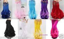 Brand New Sexy Belly Dance Fish Tail Skirt 9 Colors Available Free Shipping