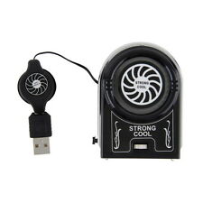 Protable Vacuum USB Cooler Air Extracting Cooling Fan for Notebook Lot LU
