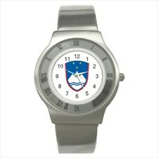 Slovenia Coat Of Arms Stainless Steel Sports Watches - Tabard Surcoat