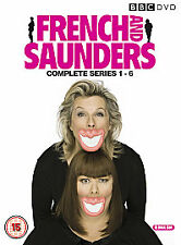 French And Saunders - Series 1-6 - Complete (DVD, 2008, 9-Disc Set)