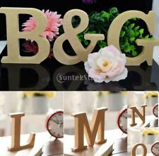 Wooden A-Z Letter Alphabet DIY Craft for Wedding/Party Decors