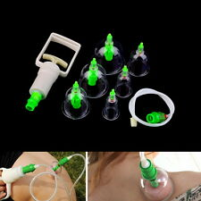 Chinese Tranditional Cupping Massage Set Acupuncture Medical Vacuum LU