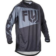 FLY ATV Patrol Motorcycle Jersey Black/Grey