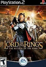 Lord of the Rings: The Return of the King - Playstation 2 Game Complete