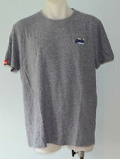 Superdry Mens Printed T - Shirt - GREY - SIZE - XXL  - NEW