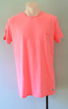 Superdry Mens Printed T - Shirt - PINK - SIZE - XL  - NEW