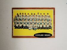 1962 Topps #537 Cleveland Indians Team EXMINT