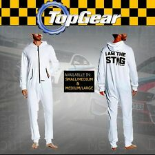 OFFICIAL BBC Top Gear I am the STIG Racing Driver Onesie in WHITE