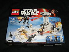 LEGO STAR WARS 75138 HOTH ATTACK FACTORY SEALED RETIRED SET