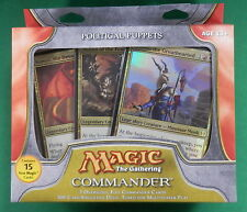 Magic the Gathering Commander Deck Political Puppets