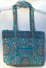 Vera Bradley Villager Tote Bag in Pattern Totally Turq - NWT