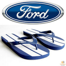 FORD Thongs Flip Flops Mens Womens Sandals Shoes OFFICIAL Rubber Slippers New