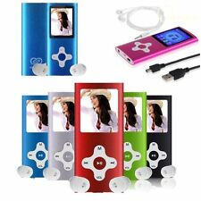 "Digital 128GB MP3 MP4 Media Player 1.8""LCD Screen FM Radio Video Games Movie Lot"