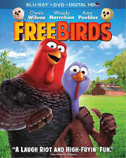 BLURAY MOVIE Free Birds with Owen Wilson Woody Harrelson Amy Poehler 2014