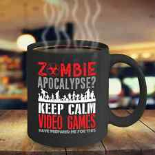 Gamer Zombie Apocalypse Keep Calm Video Games Have Prepared Me For This Mug