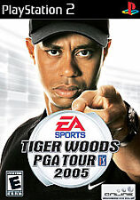 Tiger Woods PGA Tour 2005 Sony Playstation 2 PS2 Free Shipping Disc Only